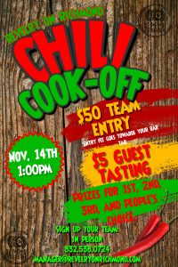 Copy of Chili Cook-Off Contest Poster Template